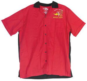 "Clay Smith ""Speed Shop"" Bowler Shirt"