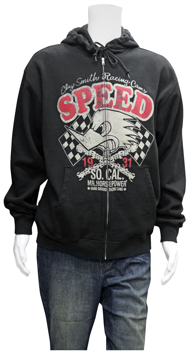 "Photo of Clay Smith ""SPEED"" Zip Up Hoodie"