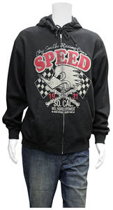 """Clay Smith """"SPEED"""" Zip Up Hoodie"""