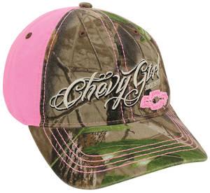 """Chevy Girl"" Camo Bowtie Hat"