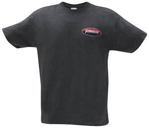 Flowmaster Oval Tee Charcoal