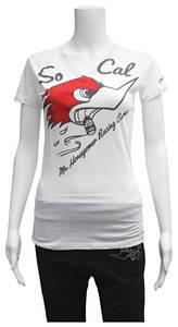 Women's So Cal Mr. Horsepower Shirt White