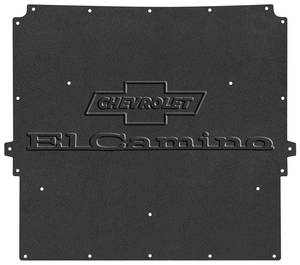 "1967 Hood Insulation & Shield Kit; AcoustiHood ""El Camino"" Logo"
