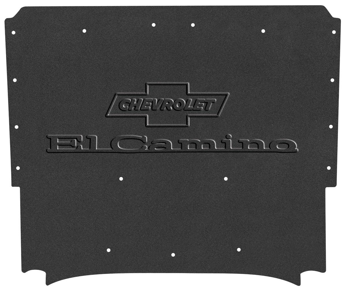 "Photo of Hood Insulation & Shield Kit; AcoustiHood ""el Camino"" Logo"
