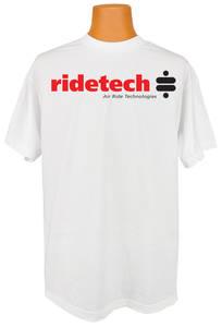 Women's Ride Tech Logo T-Shirt White Crew Neck
