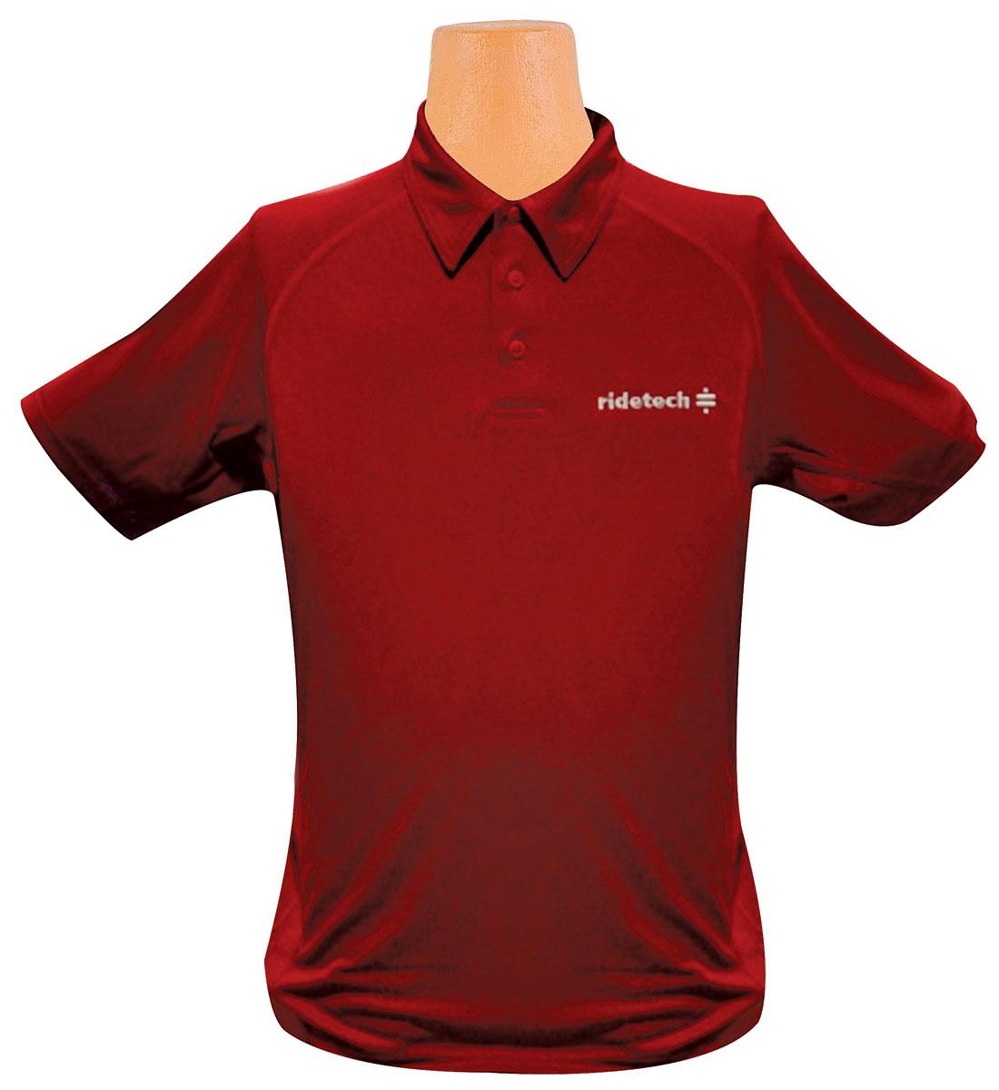 Photo of Ride Tech Logo Polo Shirt red