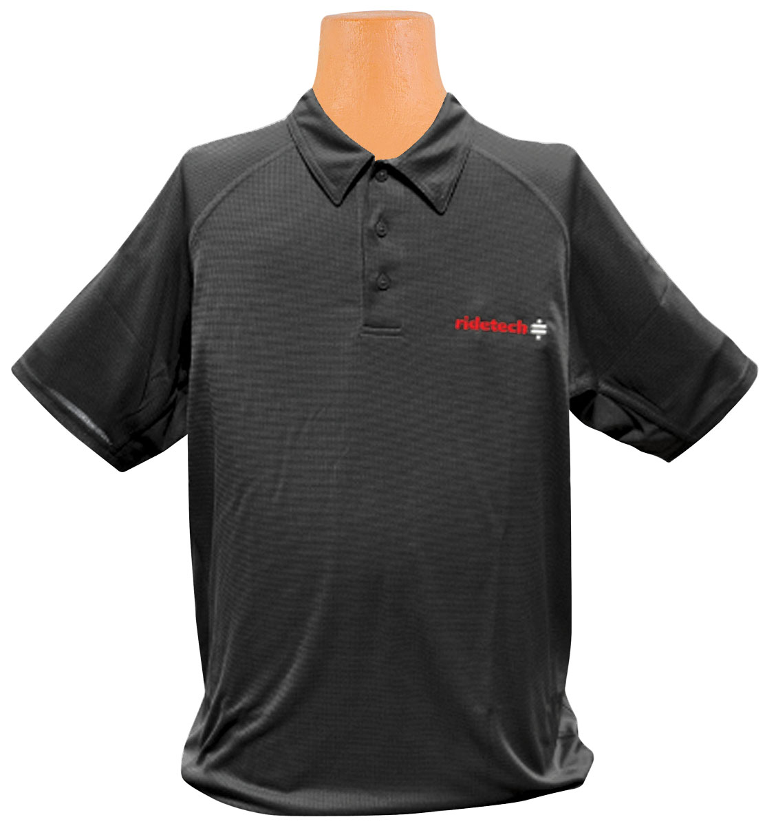 Photo of Ride Tech Logo Polo Shirt black