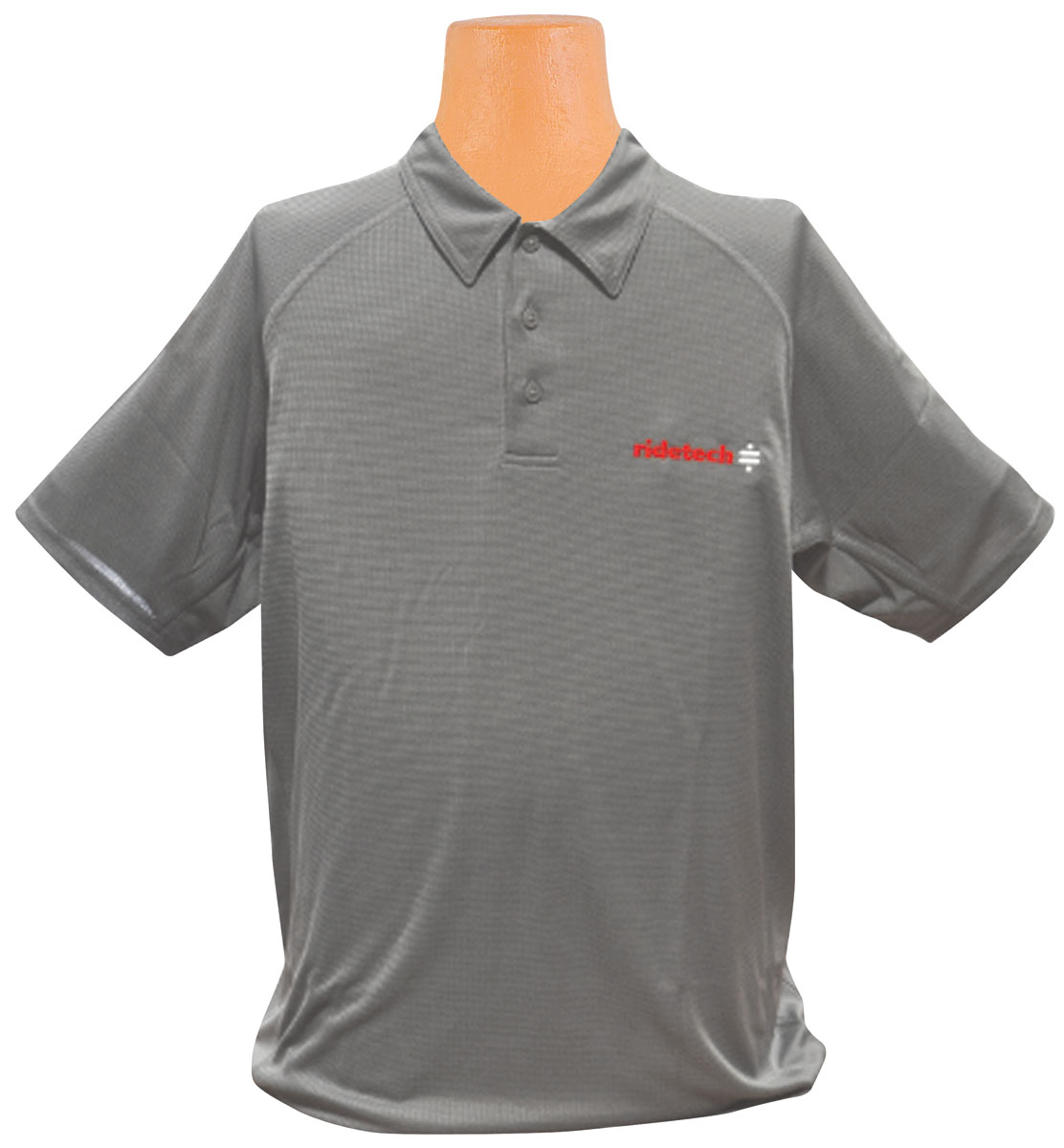 Photo of Ride Tech Logo Polo Shirt gray
