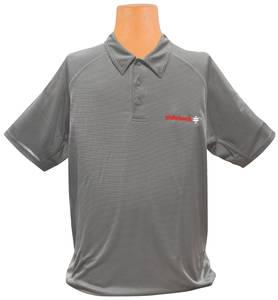 Ride Tech Logo Polo Shirt Gray