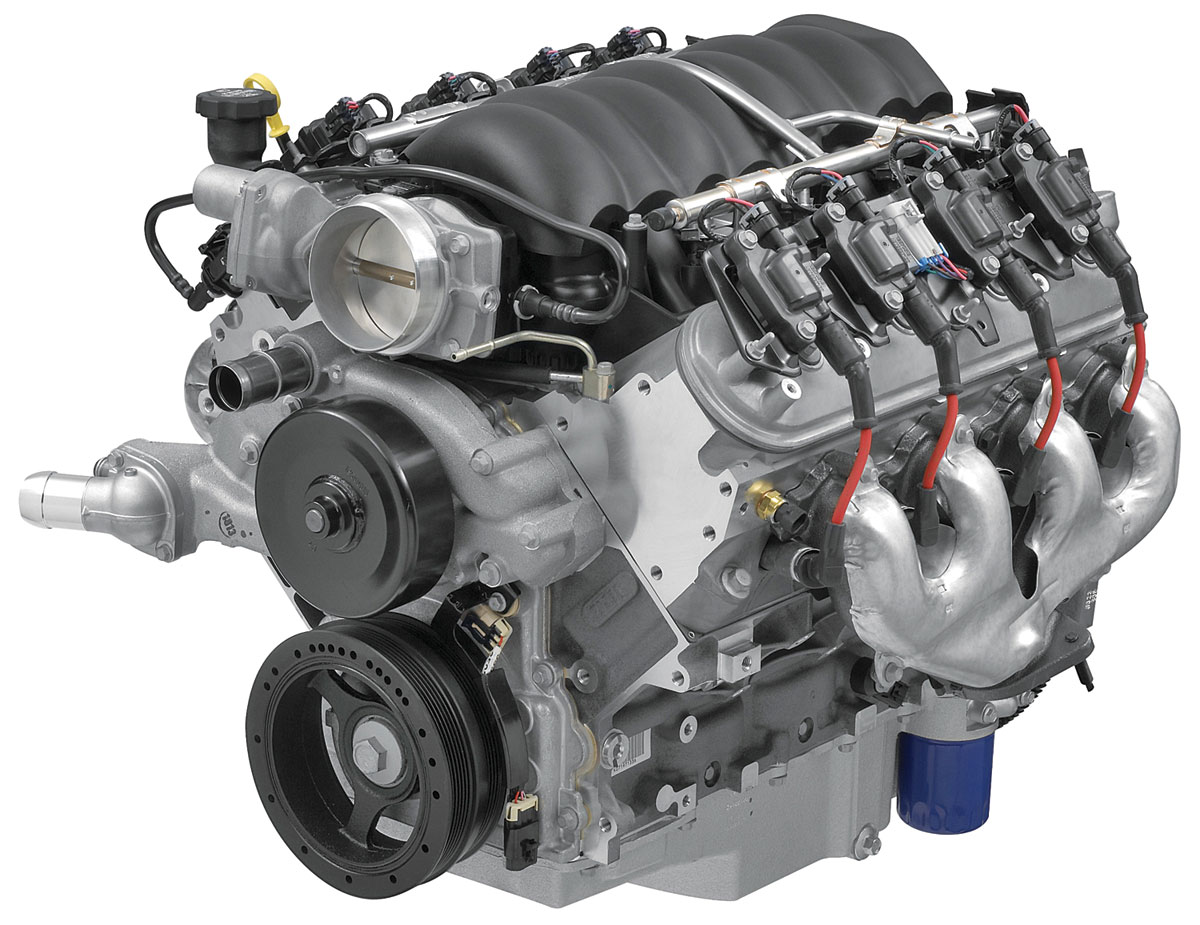 Photo of Crate Engine, LS3 E-Rod 6.2L w/ 40-tooth reluctor wheel transmission