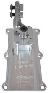 "1964-72 Bonneville Shifter, White Lightning, American Powertrain T-56 Magnum, 2.25"" Offset"