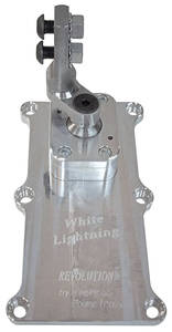 """Catalina/Full Size Shifter, White Lightning, American Powertrain T-56 Magnum, 2.25"""" offset"""
