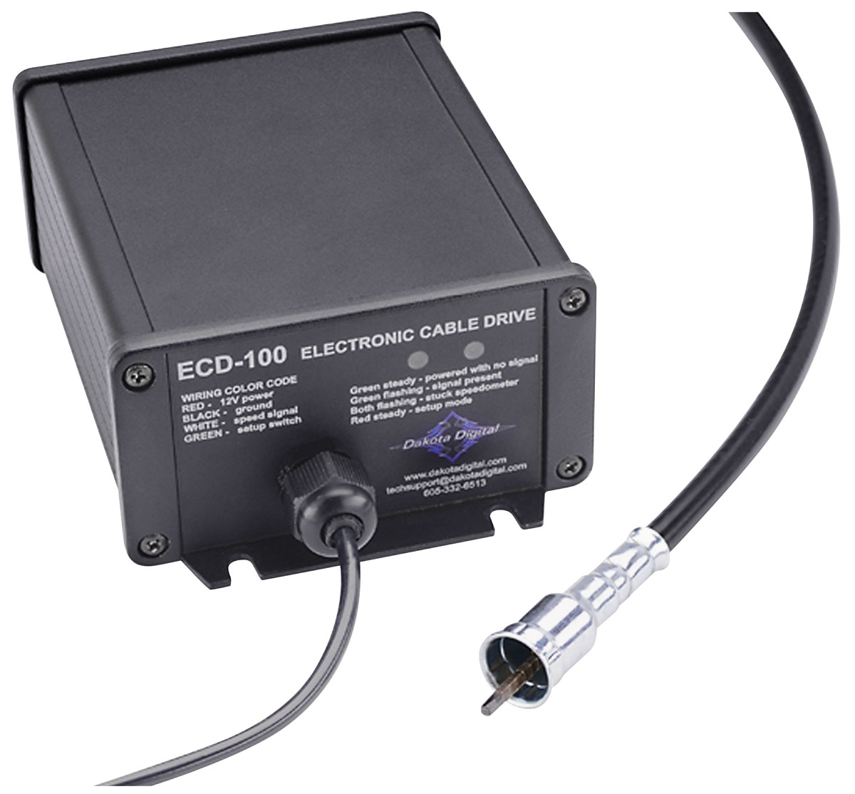 Photo of Speedometer Drive, Electronic Cable CH31488 for clip-on cables