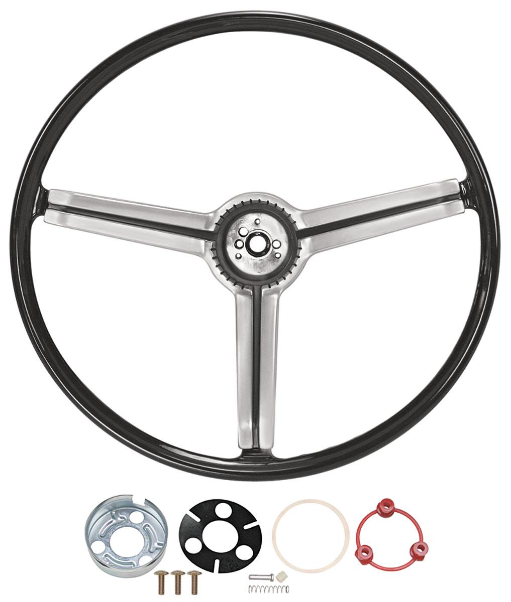 Photo of Steering Wheel Kit, 1968 Deluxe