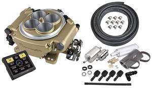 1938-1993 60 Special EFI Kit, Holley Sniper Master Kit Classic Finish