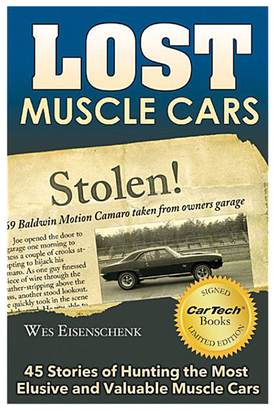 Photo of Book, Lost Muscle Cars