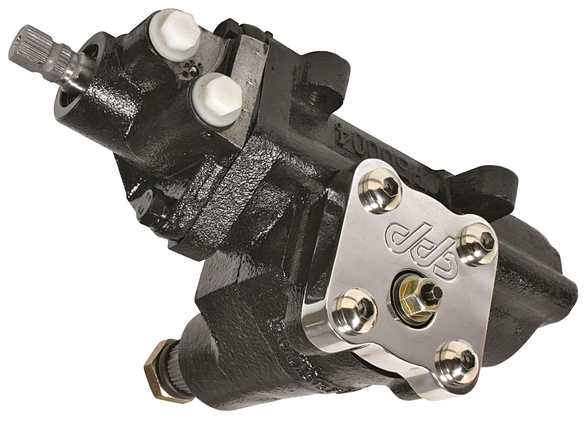 Photo of Power Steering Box, 500 Series Quick Ratio painted - 14:1