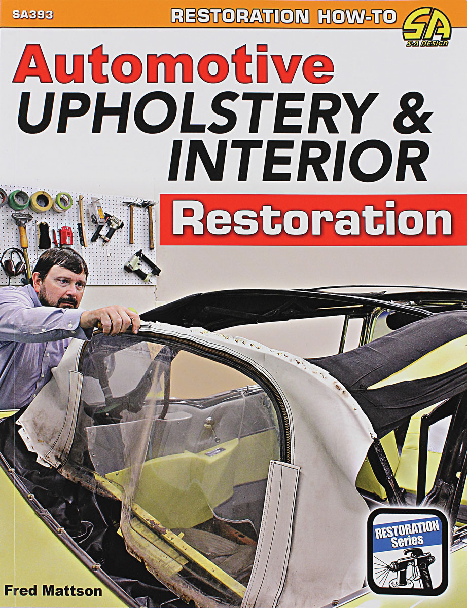 Photo of Book, Automotive Upholstery & Interior