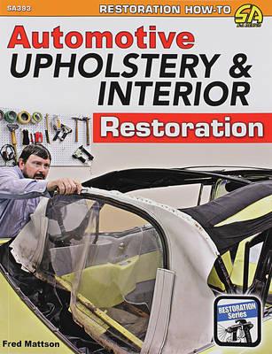 Book, Automotive Upholstery & Interior