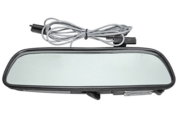 Photo of Rear View Mirrors, Custom with Map Light 8 Inch Corvair