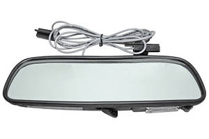 1959-1972 Bonneville Rear View Mirrors, Custom with Map Light 8 Inch