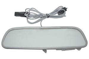 1959-72 Bonneville Rear View Mirrors, Custom with Map Light 10 Inch