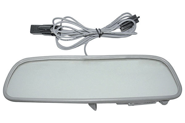 Photo of Rear View Mirrors, Custom with Map Light 12 Inch Corvair