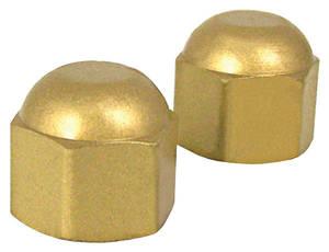Cap, AC Service Port R-12, metal acorn
