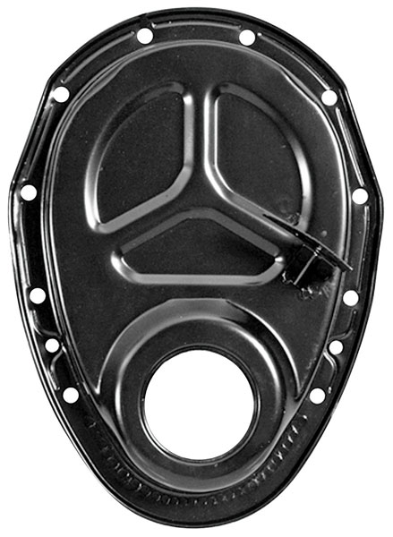 """Photo of Timing Chain Cover, V8 350, 8"""" balancer"""