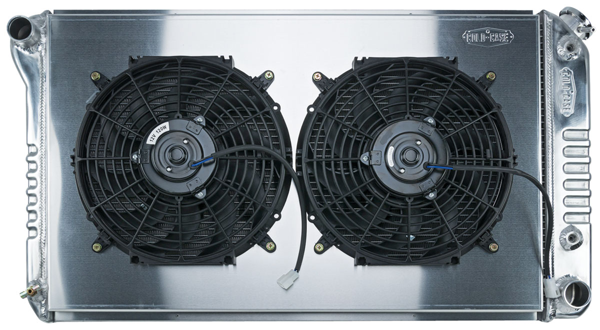 "Photo of Radiator & Fan, Super Duty Aluminum 18-1/2"" X 28-1/2"" AT, drvr inlet"