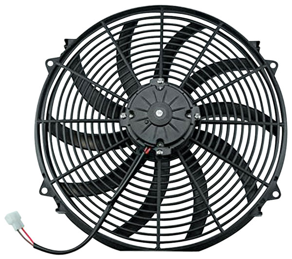 """Photo of Electric Fans, S-Blade 12"""", 1400 CFM"""