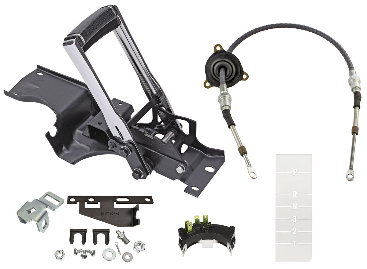 Photo of Complete Horseshoe Shifter Conversion Kit TH350, TH400