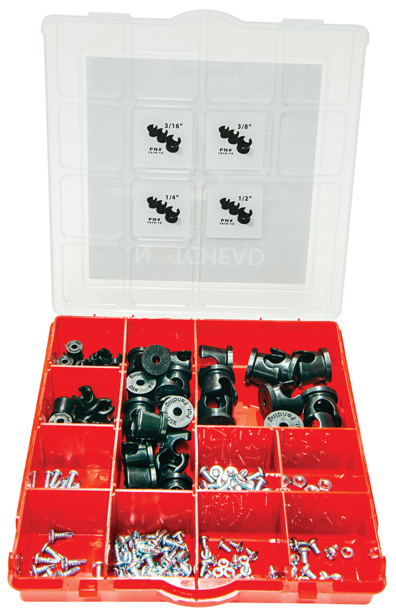 Photo of Hard Line Clamps Builder Set, 56pc