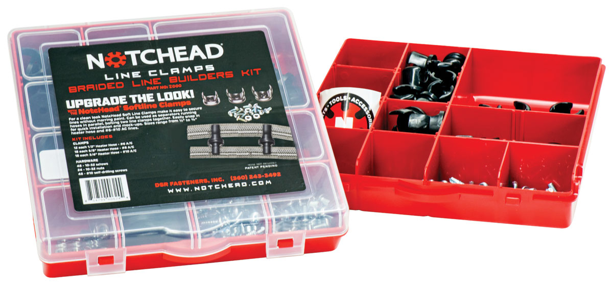 Photo of Braided Line Clamps Builder Set, 60pc