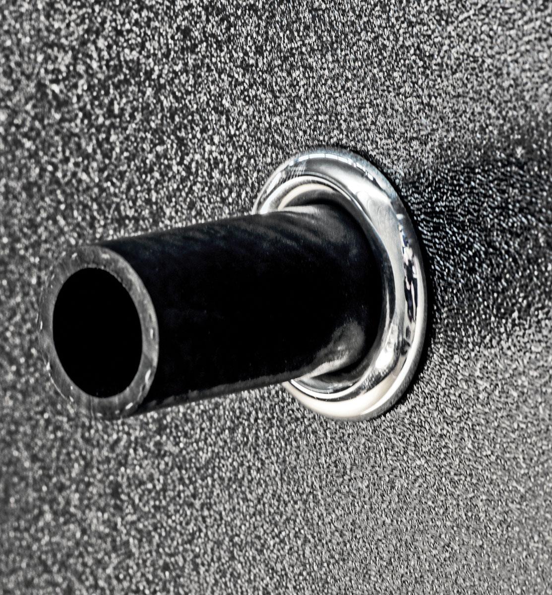 "Photo of Custom Firewall Trim Ring Grommets 1/2"" Diameter Hose"