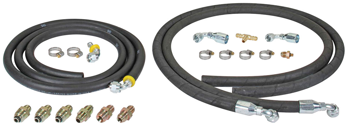 Photo of Hydraulic Brake Assist Hose Kits 6' rubber hose