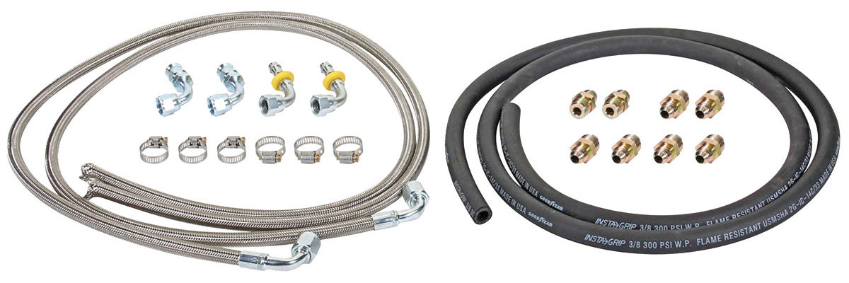 Photo of Hydraulic Brake Assist Hose Kits 6' stainless hose