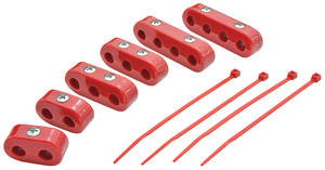 1961-73 LeMans Spark Plug Wire Separators, Clamp-Style 7-8 mm