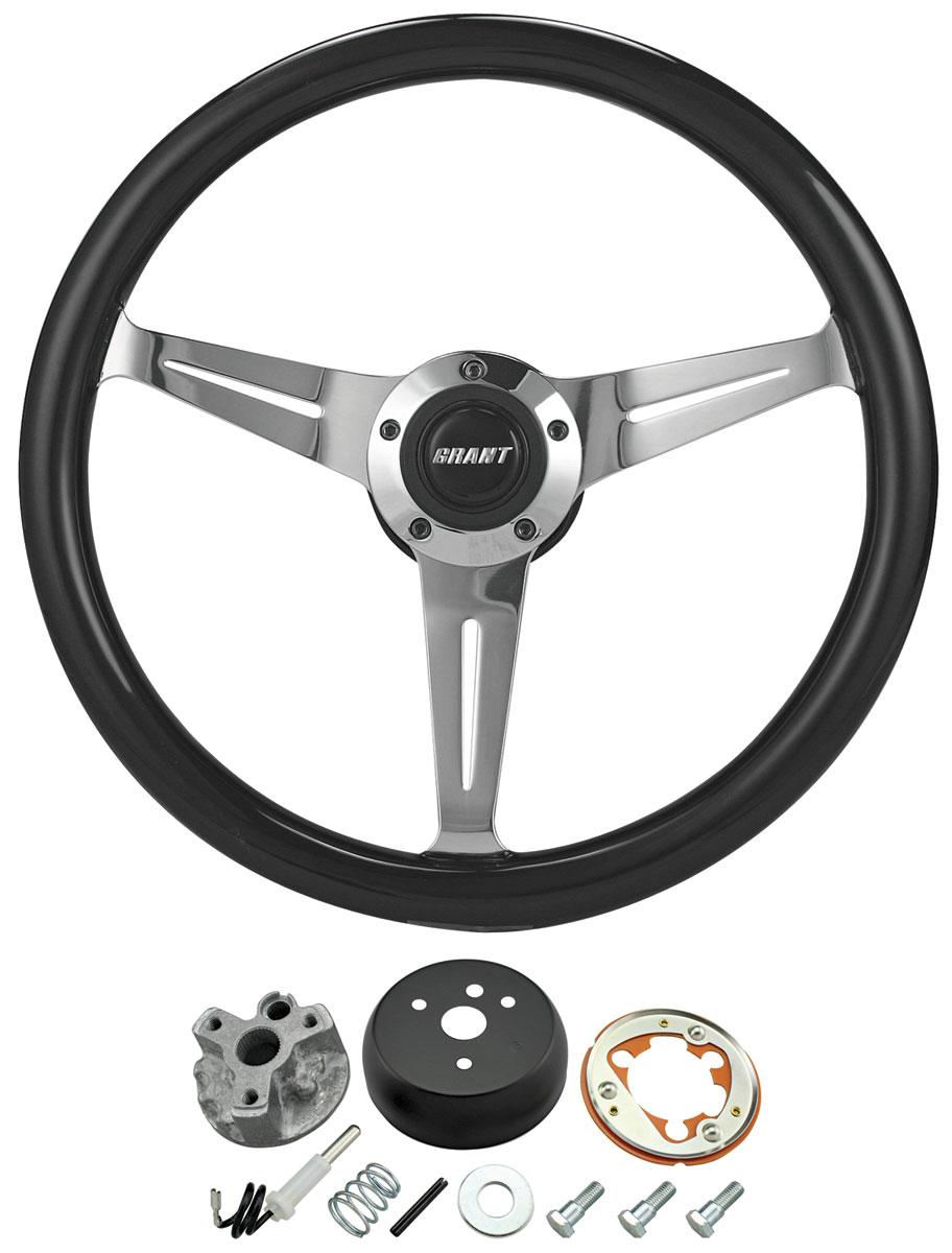 Photo of Steering Wheel Kit, Black