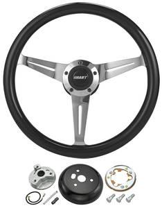 1978-88 Malibu Steering Wheel, Collector'S Edition Black, by Grant