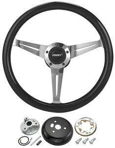 1969-77 Chevelle Steering Wheel Kit, Black