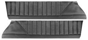 Chevelle Door Panels, 1973 Reproduction Upper Laguna, Front