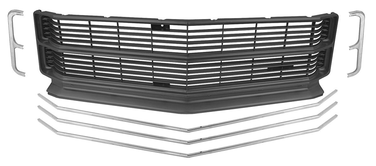 Photo of Grille Kit, 1971 Chevelle & El Camino SS