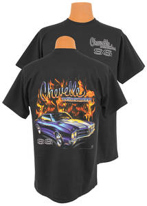 1964-77 Chevelle Flame T-Shirt Med.-2XL
