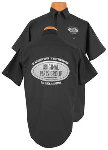 1961-1977 Cutlass Original Parts Group Shop Shirt Black