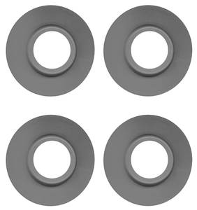 1964-77 Chevelle Door & Window Handle Protection Washers 4-Piece