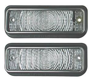 1969-1969 Chevelle Park Lamp Lens, 1969 Chevelle SS w/Trim, by TRIM PARTS