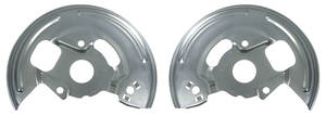 1967-68 Chevelle Disc Brake Backing Plates, Reproduction Front OEM