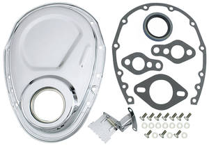 1964-77 Chevelle Timing Chain Cover Kit, Small-Block, by Trans Dapt