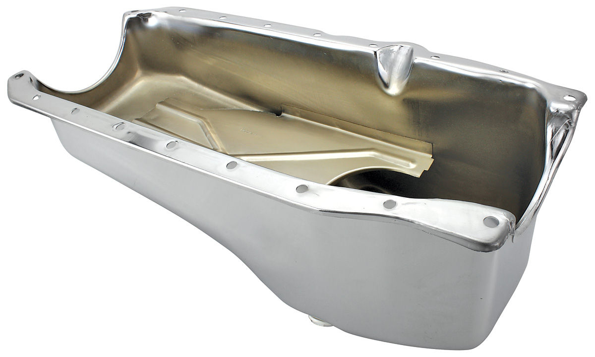 Photo of Oil Pan, Replacement Chrome w/larger main seal